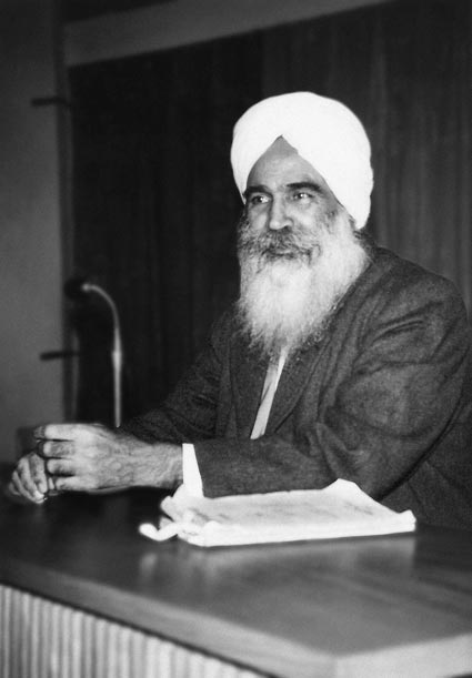 Sant-Kirpal-Singh, First World Tour, 1955