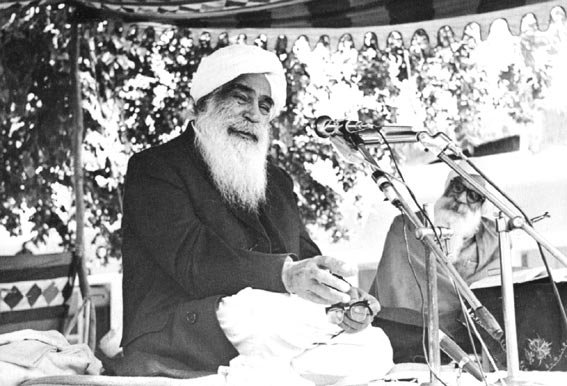 Sant Kirpal Singh, Sawan Ashram, Delhi, August 1969